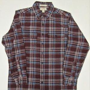 L.L. Bean Men's Chamois Shirt Size Medium-Tall
